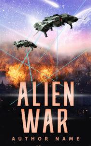 Alien War ebook cover