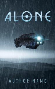 Lone spaceship ebook cover