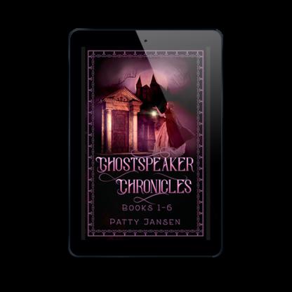 Ghostspeaker Chronicles by Patty Jansen