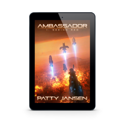 Ambassador 1: Seeing Red by Patty Jansen