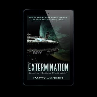 Extermination Space Agent Jonathan Bartell