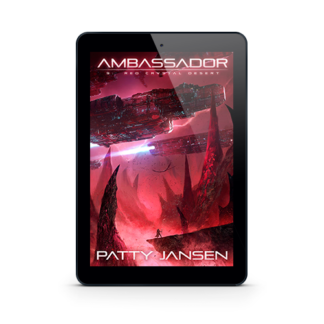 Ambassador 9: Red Crystal Desert by Patty Jansen