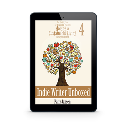 Indie Writer Unboxed by Patty Jansen