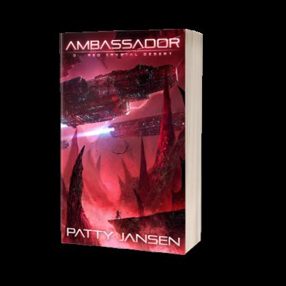 Ambassador 9: Red Crystal Desert Print